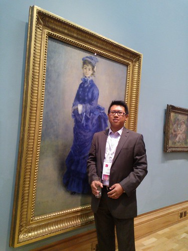 With The Blue Lady