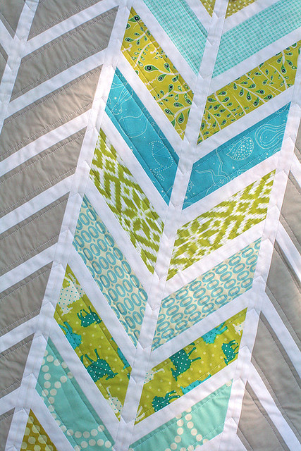 Chevron Baby Quilt – Freshly Pieced : chevron quilt patterns - Adamdwight.com