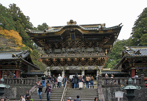 travel church japan architecture stairs fence town carving ornament nikko 2012 pattrn tochigiprefecture