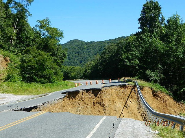 NC 194 in Avery County - Mudslide Damage | Flickr - Photo Sharing!