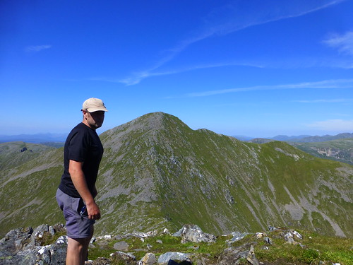 Graham on Sgurr na Carnach Munro 2