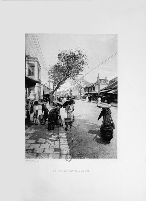 1903 - Rue du Coton, à Hanoi - Phố Hàng Bông
