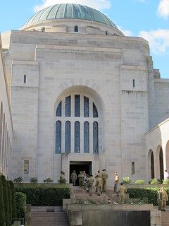 Diggers at the Hall of Remembrance