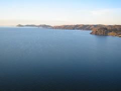 Lago Titicaca alba Perú