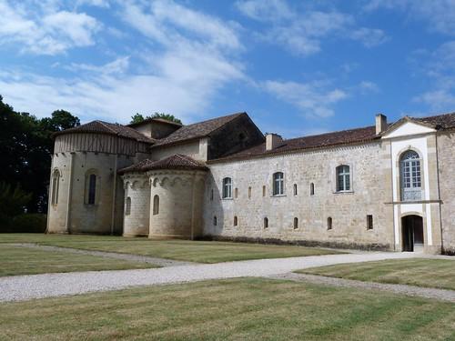 Abadía de Flaran (Gers, Gascuña)