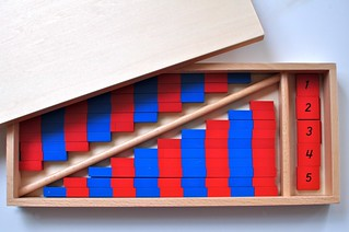 Montessori Number Rods