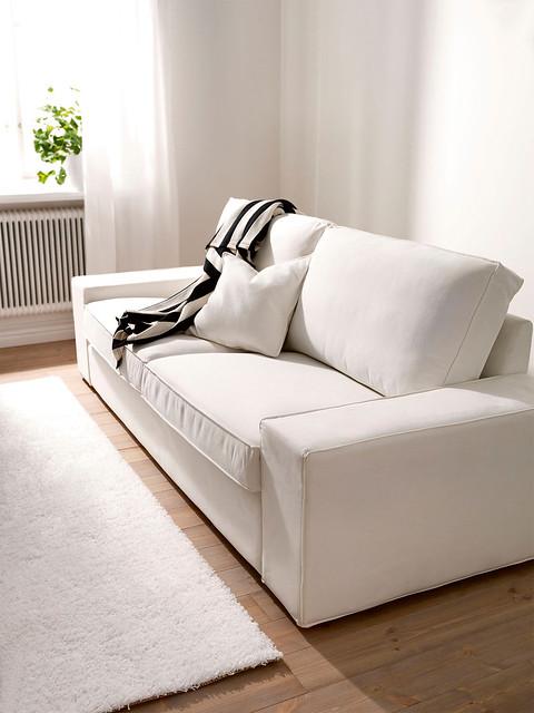 Ikea Kivik 3 Seater Sofa Cover White Slipcover Flickr