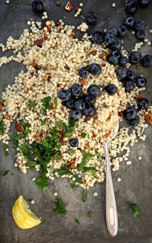 Toasted Pecan and Blueberry Couscous Salad