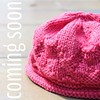 My first pattern! A simple diagonal rib hat. Newborn to adult sizes. #ABeautifulMess