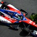 Takuma Sato streaks towards Turn 10 during practice at Baltimore