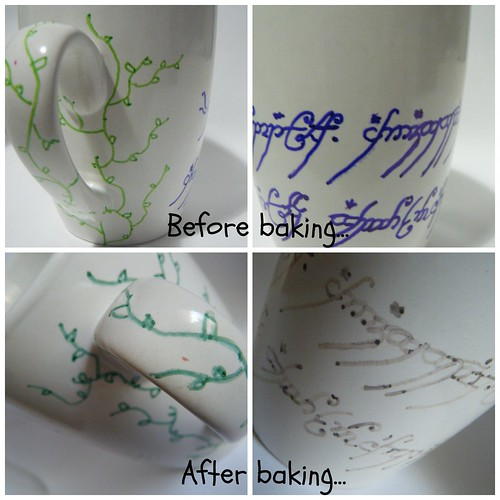 Before after baking