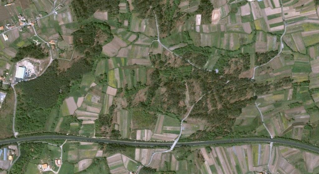 A Revolta, Sanxenxo, Pontevedra, vías rápidas en autopistas, quién lo iba a sospechar, antes, urbanismo, planeamiento, urbano, desastre, urbanístico, construcción
