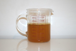 01 - Zutat Gemüsebrühe / Ingredient vegetable stock