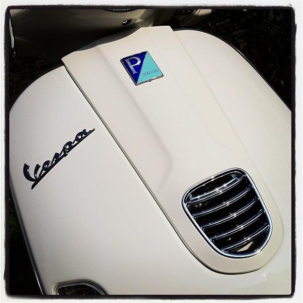 #Piaggio #Vespa LX125 3V 朝洗車完了。