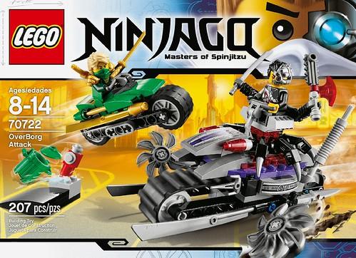 LEGO Ninjago OverBorg Attack 70722 Box