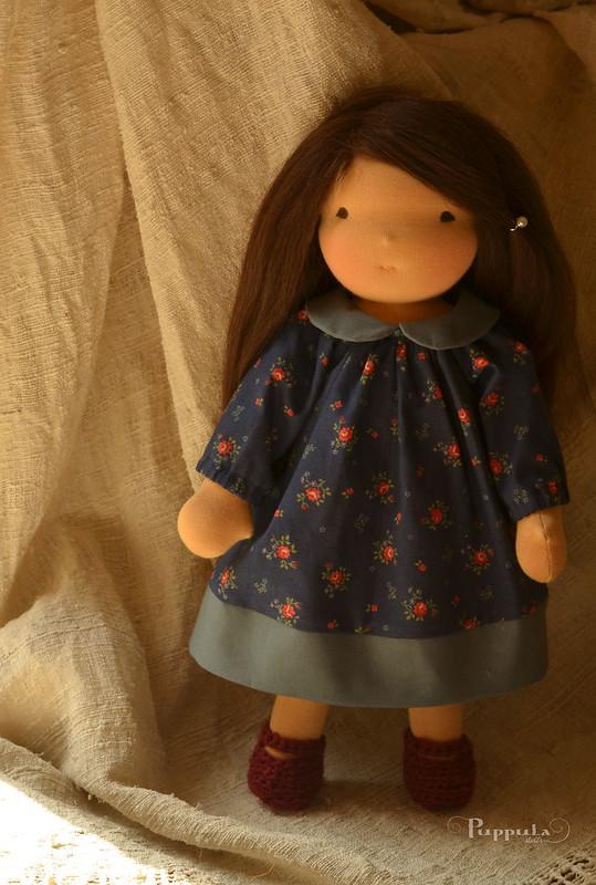"Smilja,  15"" waldorf inspired doll"