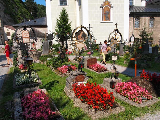 St. Peter's Cemetery in Salzburg