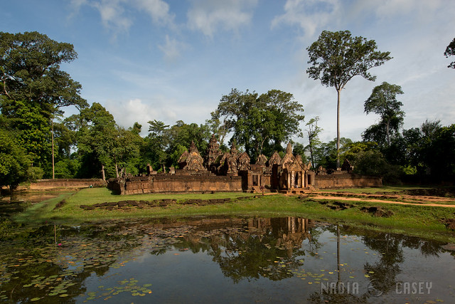 Banteay Srei Reflection