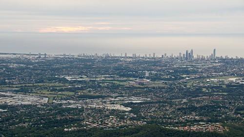 sunrise buildings scenery flight australia brisbane 18200mmf3556gvr d7000