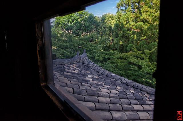 「窓」 法観寺 - 京都