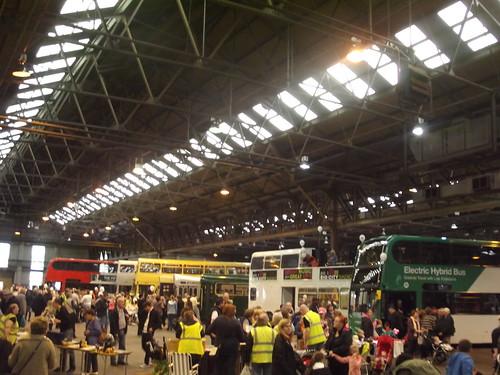 Open Day Acocks Green And Yardley Wood Bus Garages Birmingham