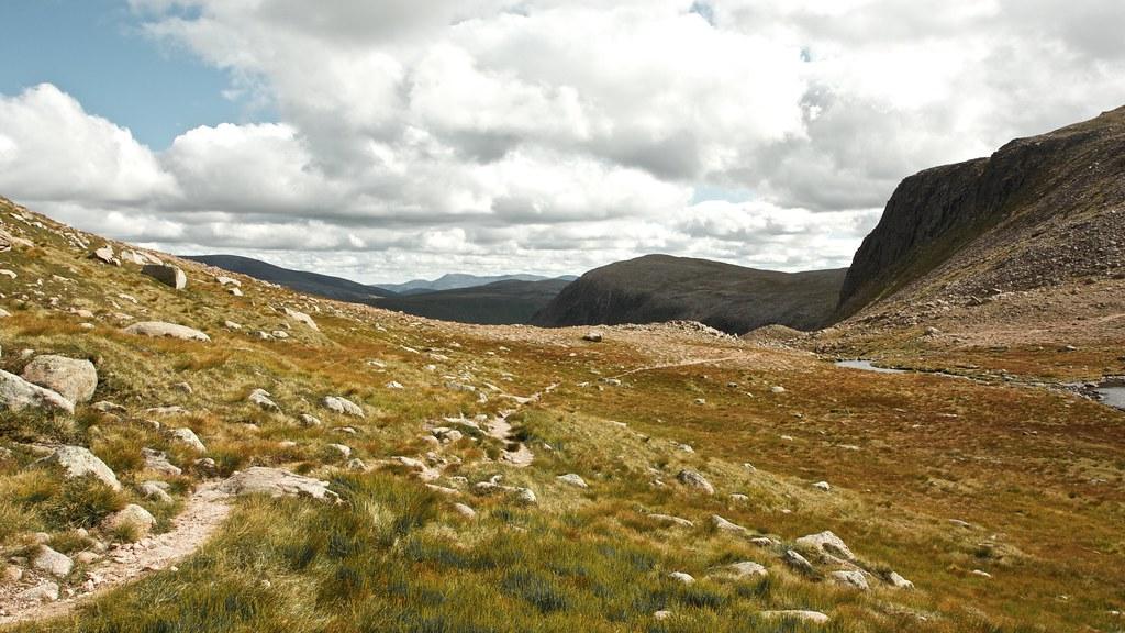 Towards Deeside and Lochnagar