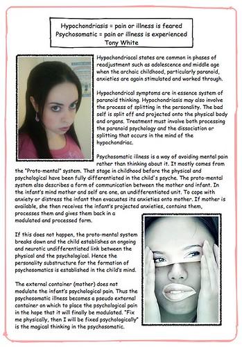 Hypochondriasis & psychosomatics