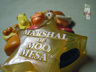 HAPPINESS EXPRESS INC :: Wild West C.O.W.-Boys of MOO MESA ; NIGHT LIGHT v (( 1993 ))