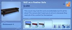Stiff as a Feather Sofa