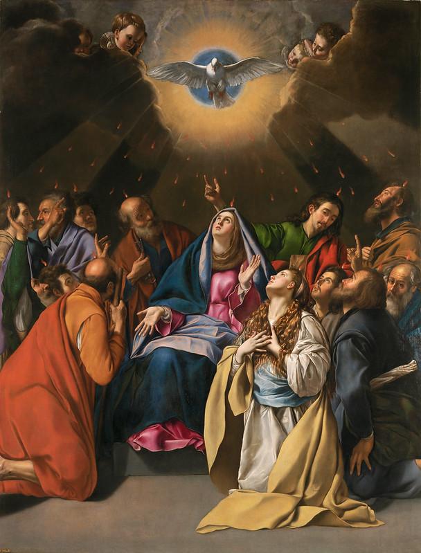 Juan Bautista Maino - Pentecostés (c.1620-1625)