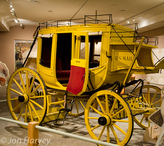 stagecoach in yellow