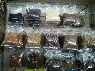 spices - from Indian stall