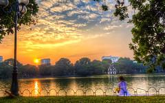 Ho Guom sunset