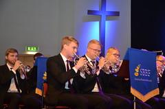 Brassbandfestivalen 2013 - Solokornetter och sopran, Åsenhöga Missionskyrkas Brass Band (Foto: Annette Forsberg)