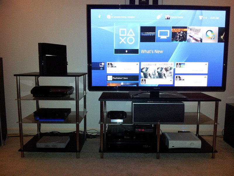 how to set up my ps4