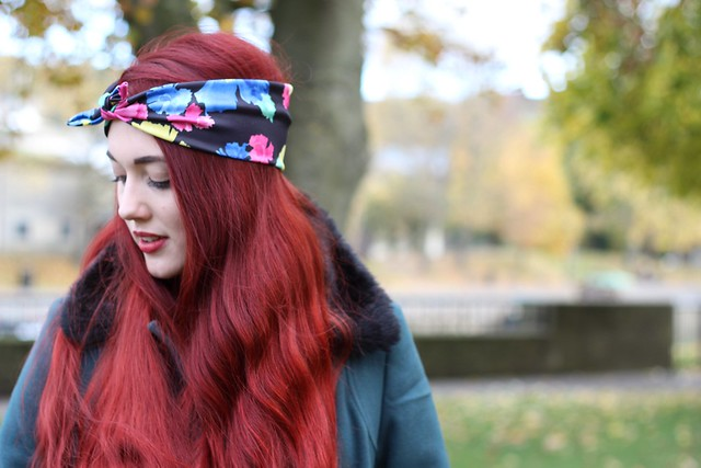 crown and glory vintage headscarves