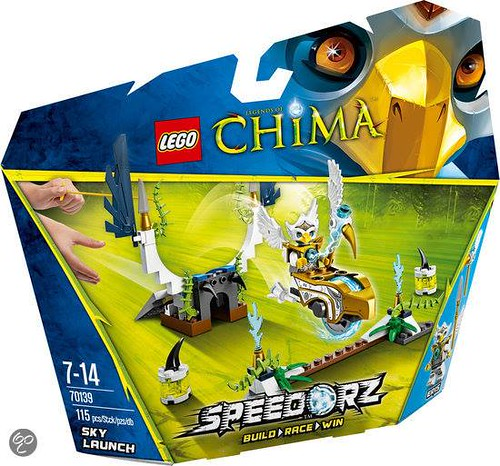 LEGO Legends of Chima Sky Launch (70139)