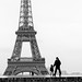 Boy returning from Eiffel Tower with his grand-father, Paris by Photos-Change-The-World
