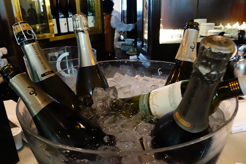 Bucket of bubblies & a bottle of wine - Bar and Billiard Room