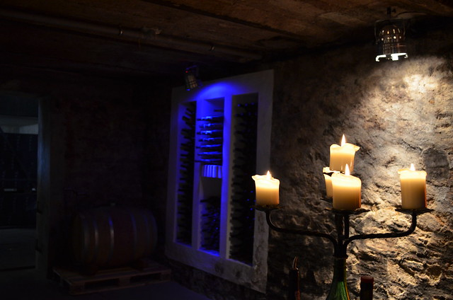 Trenz open cellar candlelight ambiance