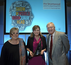 Bruntwood Prize for Playwriting Awards Ceremony 2013