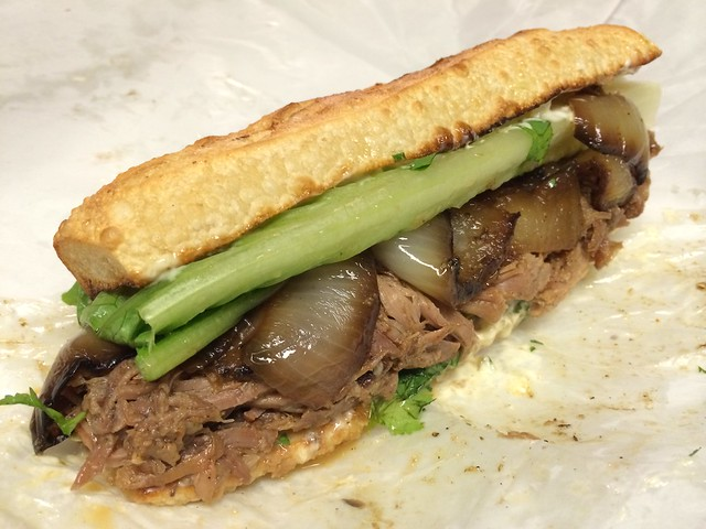 Caribbean roast sandwich - Paseo