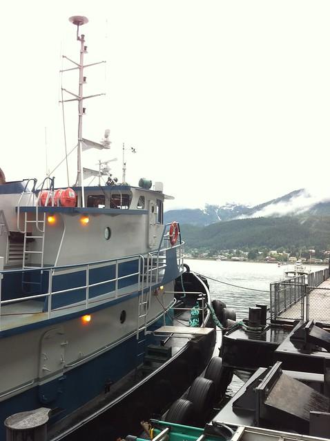 Juneau dock
