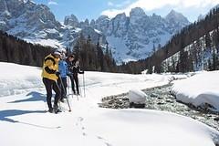 Lyžování bez hranic v italských Dolomitech