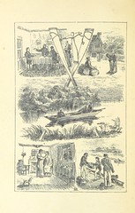 """British Library digitised image from page 10 of """"A Freshwater Yarn; being ye true and veracious log of ye boats 'Fury' and 'Kate,' while on an exploring expedition on ye river Avon; done by ... Brown, Jones, and Robinson. To ye which are super-added ... s"""