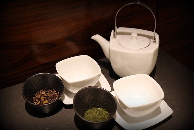 How lovely to have actual tea leaves for your in-room tea