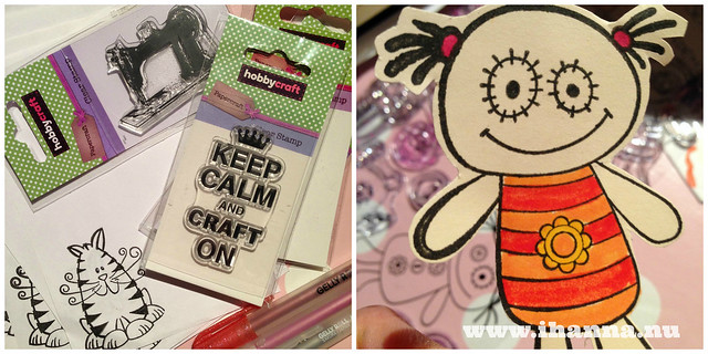 Keep Calm and Craft ON baby