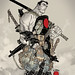 VALIANT COMICS - Bloodshot Cover by R. Grampá