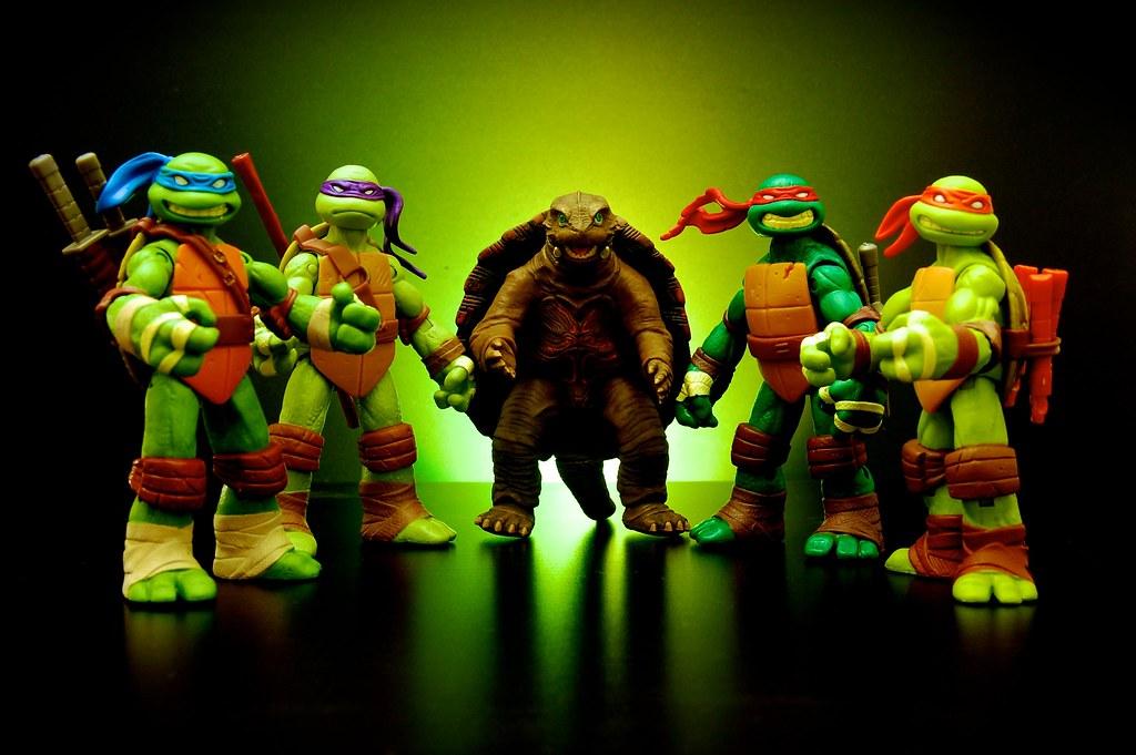 Mutant Turtles Unite!