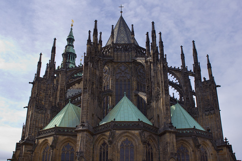 Monday, November 4: St Vitus Cathedral is a gothic masterpiece. We spent the day wandering the grounds of the Prague Castle where the Cathedral sits.